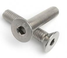 CSK Socket Set Screws DIN7991 Gr10.9 Galvanised