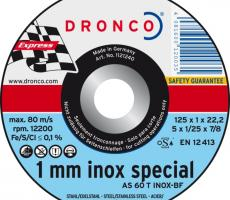 Dronco Cutting Disc (Stainless)
